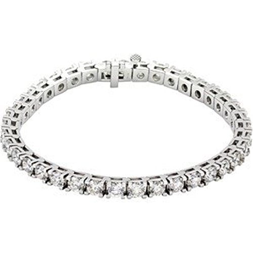 18K White Gold Diamond Tennis Bracelet 18k White Gold Diamond Tennis Bracelet