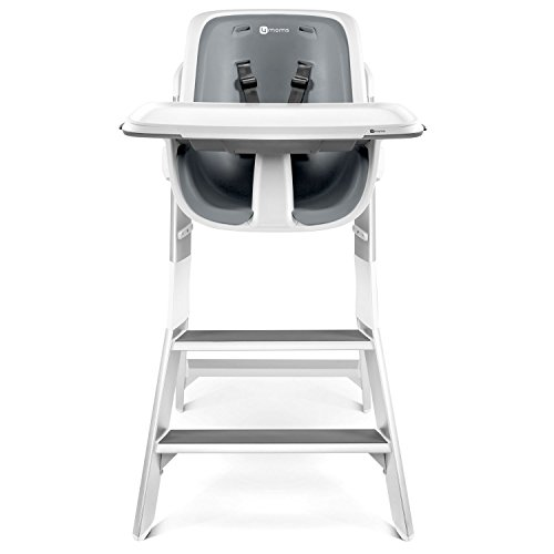 4moms, High Chair, White, Grey