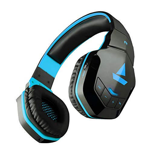 boAt Rockerz 510 Bluetooth On-Ear Headphone with Mic(Jazzy Blue)