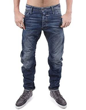 G-Star Riley Loose Tapered Rugby Wash Jeans Arizona Denim Tapered Leg Loose Fit