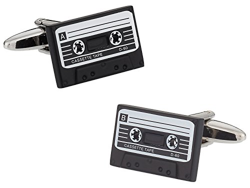 Cassette Tape Retro Cufflinks by Cuff-Daddy