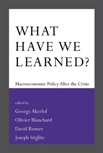 Amazon what have we learned macroeconomic policy after the what have we learned macroeconomic policy after the crisis mit press by fandeluxe Gallery
