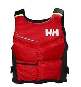 Helly Hansen Rider Stealth Chaleco, Hombre, (Rojo 222), 60/80