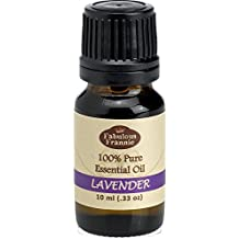 Lavender 100% Pure, Undiluted Essential Oil Therapeutic Grade - 10 ml. Great for Aromatherapy!