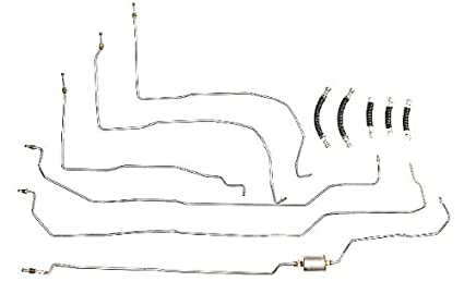 image unavailable  image not available for  color: fine line fuel systems fuel  line complete chevrolet silverado 1502