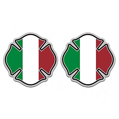 italian stickers hardhat - 9