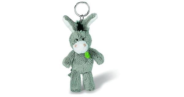 Amazon.com: NICI burro llavero peluche: Toys & Games
