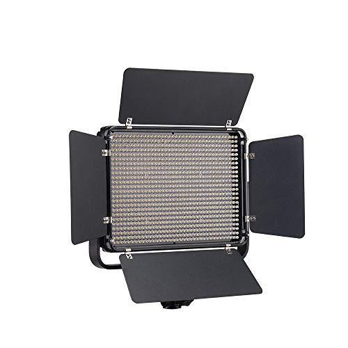 Tolifo Pt-1000s LED Professional Photography Studio Video Light Panel Camera Photo Lighting U Shaped Bracket 2.4G Wireless Remote Control or Bluetooth,7200LM for Canon Nikon Olympas Panasonic