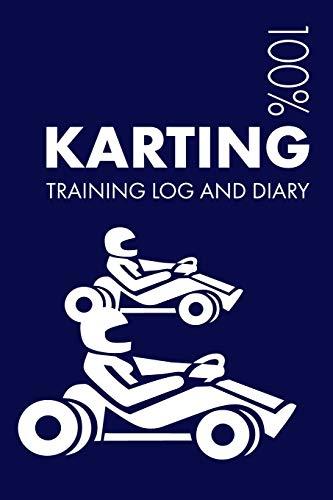 Karting Training Log and Diary: Training Journal For Karting - Notebook por Elegant Notebooks