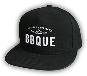 BBQUE 3D - Logo Baseball Cap | Schirmmütze | One Size | weitenregulierbar | unisex (für Herren und Frauen)