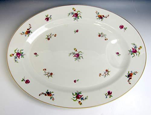 (Haviland China Mignonette Oval Serving Platter 13