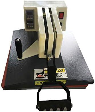 QWERTOUR Heat máquina de impresión de la Camiseta de la máquina Equipo de Transferencia de Alta presión Que sacude la Pista de perforación en Caliente de la máquina de Transferencia de Calor: