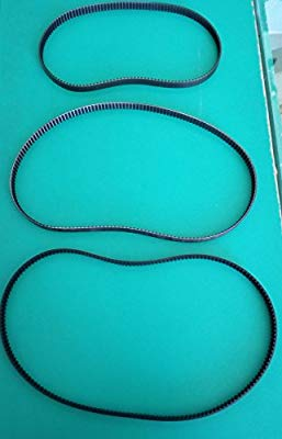 Kit 3 Spare Straps for Bread Machine Bifinett Mod. kh1171