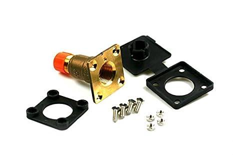 Válvula de flotador HK plano w21,8 recta para 8 mm cable de cobre, LPG Auto Gas GPL: Amazon.es: Coche y moto