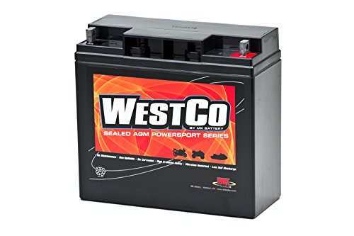 WestCo 12V20P Factory Activated Maintenance-Free Rechargeable Sealed Lead-Acid Battery by MK Battery