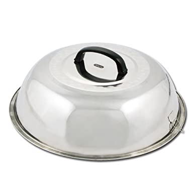 Winco WKCS-15 Stainless Steel Wok Cover, 15-3/8-Inch