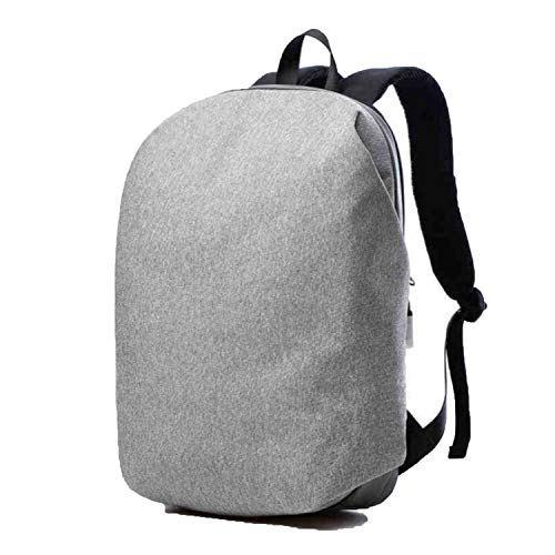 - 17 Inch Laptop Backpack Waterproof Men Business Backpack Compu15.6 Travel Bag,Gray,17 Inches