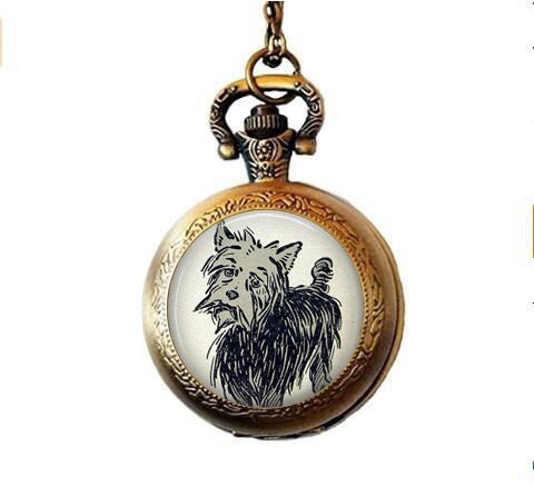 (Toto Wonderful Wizard of oz Pocket Watch Necklace)