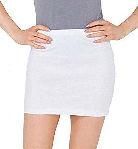 Oh! Pretty Jupe - Moulante - Femme Blanc