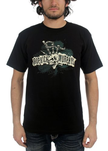Dropkick Murphys - Mens Bagpipe Mohawk T-Shirt, Size: Medium, Color: ()