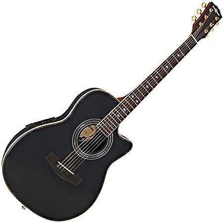 Guitarra Electroacústica Roundback de Gear4music Black