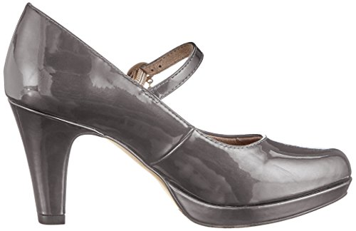 s.Oliver Women's 24400-31 Closed-Toe Pumps Grey (Anthra. Patent 224) 6f3Av6