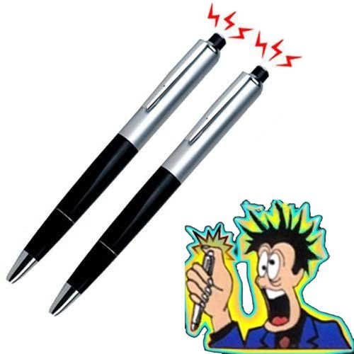 Shock Toy - Forum Novelties Fashionclubs Electric Shock Ball Pen Prank Joke Trick Toys Pack of 2 Toys