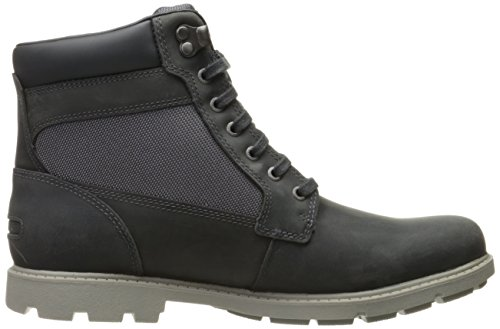 Boot Castlerock Rockport Rugged Bucks High Chukka Grey Men's qO7Hxp
