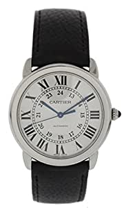 Cartier Ronde Solo automatic-self-wind mens Watch WSRN0013 / 3999 (Certified Pre-owned)