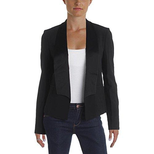 Hugo Boss Boss Womens Jefila Long Sleeve Open-Front Blazer Black - Sale Ladies Hugo Boss