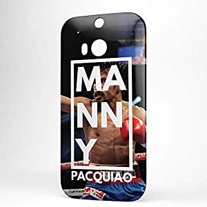 Manny Pacquiao HTC One M8 3D wrap around Case - Name