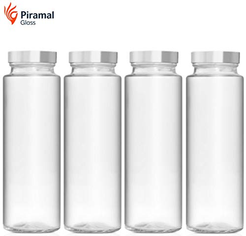 Piramal Glass Food Grade Water Bottle – 500 ML – Pack of 4 Price & Reviews