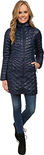 The North Face Women's Thermoball¿ Hooded Parka Urban Navy (Prior Season) (North Park Zip)