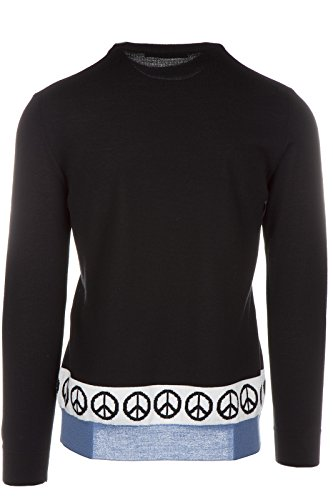 Love Moschino pull ras du cou homme noir