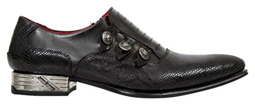 New Rock M Nw152 S1, Mocassini Uomo Nero (Black (Nero))