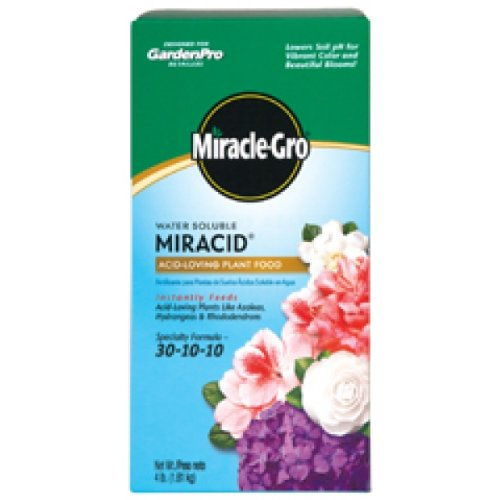 Miracle Gro 1850011 4 Lb Water Soluble Miracid® Acid-Loving Plant Food by Scotts