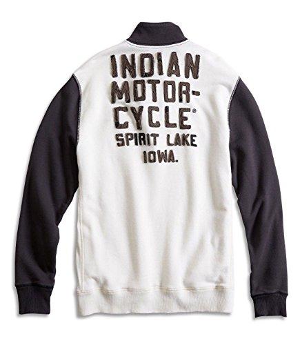 Lucky Brand Men's - Indian Motorcycle Spring Lake, Iowa Sweatshirt (Large)