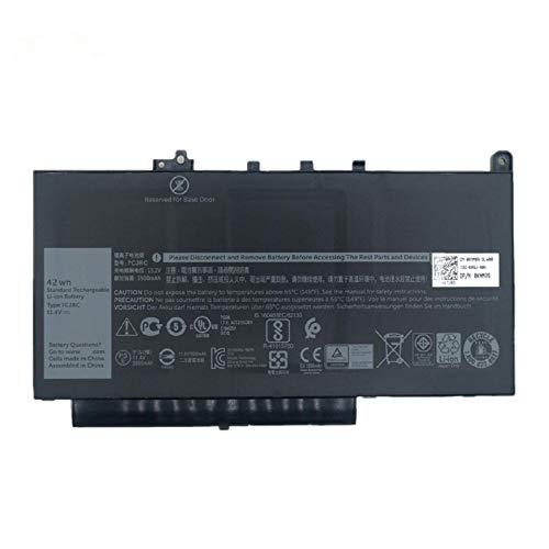 Batterymarket 7CJRC Replacement Laptop Battery Compatible with Dell 7CJRC Laitude 12 E7270 E7470 Series Notebook 21X15 021X15 (11.4V 42Wh 3500mAh) 3500 Series Notebook Battery