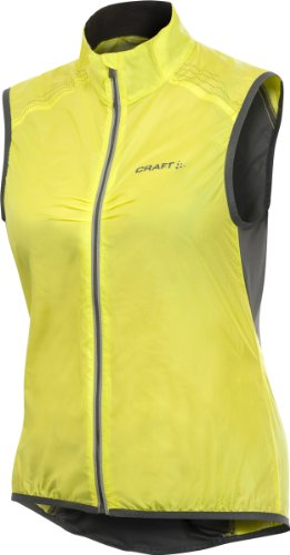 Craft Performance Bike (Craft Women's Performance Bike Light Vest (Yellow, Large))