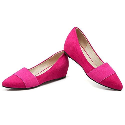 Coolcept Zapatos de Tacon Cuna Para Mujer Rose Red