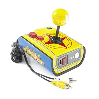 Jakks Super Pac-Man TV Game: Toys & Games