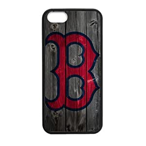 Custom Unique Design Boston Red Sox Iphone 5 5S Silicone Case