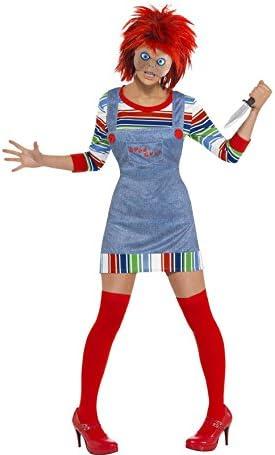 Disfraz de la Novia de Chucky para Mujer: Amazon.es: Juguetes y juegos