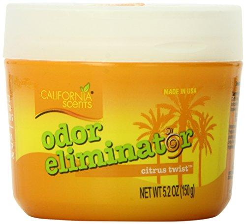 California Scents Odor Eliminator, Citrus Twist, 5.2-Ounce Jars (Pack of 12)