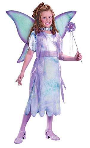 Water Color Fairy Toddler Costumes (Girls Watercolor Fairy Kids Child Fancy Dress Party Halloween Costume, M (8-10))