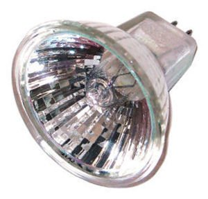 (Eiko 18013 - Q50MR16/CG/41/36 - SoLux 50 Watt MR16 Light Bulb, 4100K, 36 Degree Beam, Cover Glass)