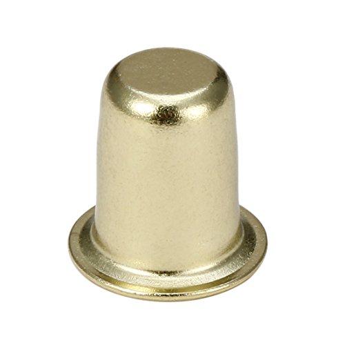 (uxcell Lamp Finials Brass Cap Knob Lighting Shade Decorative Accessories 1 inch High )