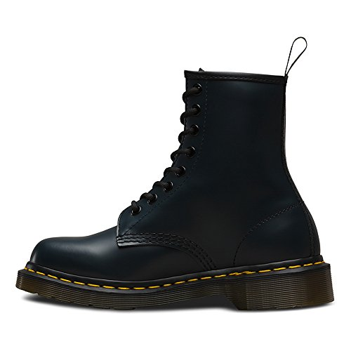 Combat Navy Adulto Dr Martens Unisex Smooth 1460 Stivali wHxInB4qTO