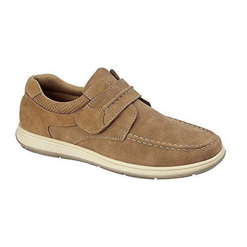 Scimitar Mens Touch Fastening Casual Shoe Tan 0aNtC