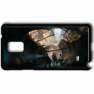 Personalized Samsung Note 4 Cell phone Case/Cover Skin Art Black